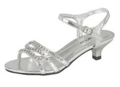 Silver Sandals With A Low Heel After Ceremony Shoes Pinterest Wedding And Clothing