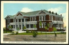 The Tuskegee Institute reports that 1952 is the first year in 71 consecutive years that there was not a lynching. John Andrews Hospital on the campus of Tuskegee University