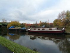 More converted working boats at ickles by rachel m