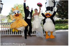 Donald Duck - Wedding Spotlight: Silvia + Mike | Magical Day Weddings | A Wedding Atlas Fan Site for Disney Weddings