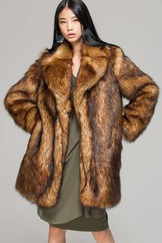 Cappotto Pelliccia Persiano Volpe Astrakhan Fox Fur Coat Manteau ...