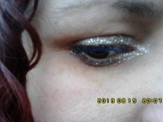 Silver Barry M eyeliner and blue mascara (1)