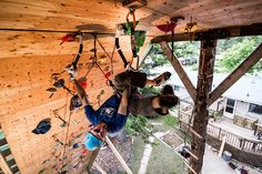 Best Home Climbing wall EVER!!!