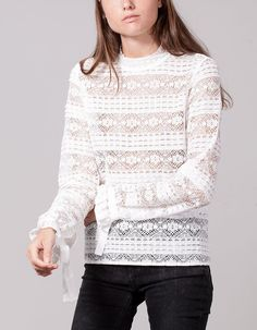 At Stradivarius you'll find 1 Lace blouse for woman for just 3186 Japan . Visit now to discover this and more VIEW ALL.