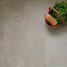 Floated Light grey Satin Concrete effect Porcelain Floor tile, Pack of 6, (L)600mm (W)300mm Insulated Garden Room, Garden Supplies, Tile Floor, Concrete, Flooring, Grey, Porcelain Floor, Metal, Wall