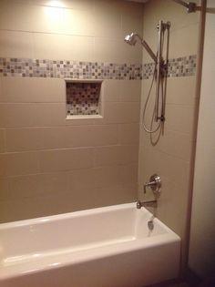 New tub & shower surround