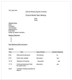 Agenda Meeting Template Word Amazing 10 Essay Outline Templates  Word Excel & Pdf Templates .