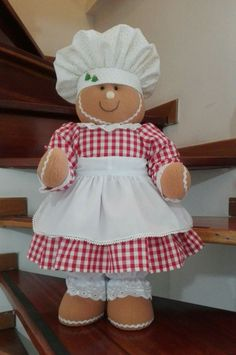 Christmas Gingerbread, Christmas Fun, Ginger Cookies, Ideas Para, Snowman, Diy And Crafts, Seasons, Party, Pin Cushions