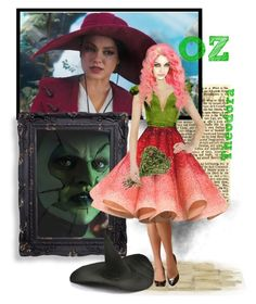 """""""68-Theodora from Oz the Great and Powerful"""" by psiche-olga ❤ liked on Polyvore featuring art and milakunis"""