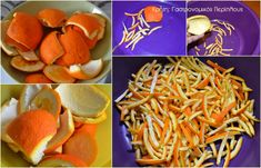 Spoon sweet orange with the most … – Pastry World Spoon, Carrots, Spaghetti, Orange, Vegetables, Ethnic Recipes, Sweet, Candy, Spoons