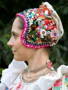 folklormania_vazec2_VZ Bratislava, Czech Republic, Captain Hat, Crochet Hats, European Countries, Culture, Costumes, Embroidery, Prague