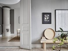 Tour a Sophisticated and Serene Swedish Apartment with an Effortless Elegance _
