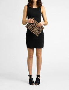 colette rib knit zip tank dress