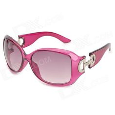 Brand: N/A; Quantity: 1; Gender: Women's; Suitable for: Adults; Protection: UV400; Frame Color: Medium Violet Red; Lens Color: Purple; Frame Material: Cellulose acetate; Lens Material: Resin; Lens Height: 55 mm; Lens Width: 60 mm; Bridge Distance: 18 mm; Overall Width of Frame: 145 mm; Temple Length: 130 mm; Packing List: 1 x Sunglasses 1 x Cleaning cloth 1 x Case;  http://j.mp/1rMXWHA