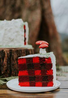 Woodland wedding cake!