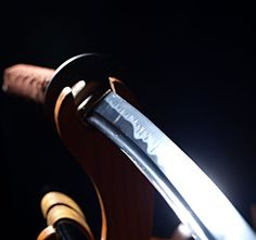 """The Katana - one of the traditionally made Japanese swords that were worn by the Samurai class of feudal Japan. AKA the """"Samurai Sword"""""""