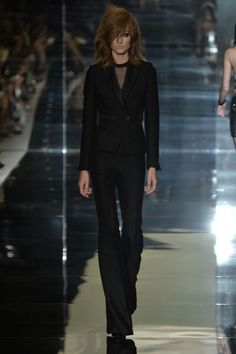 Check out this look from the TOM FORD Spring 2015 Womenswear Collection #LFW #TOMFORD