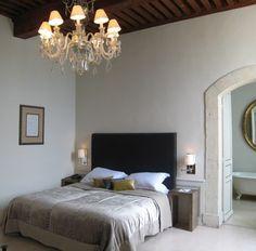 Bedroom at Chateau de Massillan by Birgit Israel