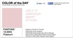 APPart – Mobile Art – Pantone Color of the Day – 'Potpourri' – TheAppWhisperer