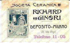 Richard Ginori Liberty ! www.italialiberty.it