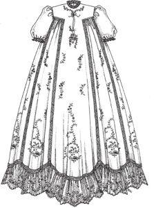 Vintage t-gown Christening Gown  http://brerrabbitdesigns.com