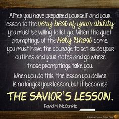 """David M. McConkie, """"Teaching with the Power and Authority of God,"""" October 2013 General Conference #ldsconf"""