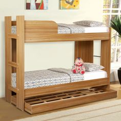 Fab Home Navon Bunk Bed - FabFurnish.com