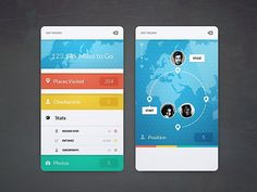 Creative UI Design by Cosmin Capitanu | Abduzeedo Design Inspiration