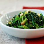 Sigeumchi Namul (Korean Spinach Side Dish)