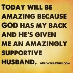 Even on the days my hubby is not exactly my favorite person in the world, this is still so true for me :)