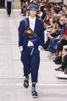 Louis Vuitton Menswear Collection SS18 Paris show