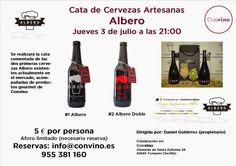 Convino: Cata de Cervezas artesanas Albero el pasado jueves...