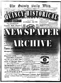 Quincy Illinois Digital Newspaper Archive - Historical Quincy newspapers published in the years 1835 through approximately 1919 are now available online! Genealogy Sites, Genealogy Research, Quincy Illinois, Research Sources, Newspaper Archives, Family History, Ancestry, Mississippi, Social Studies