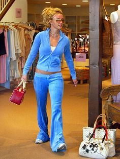 13 Fashion Trends From the Early 2000s That You Totally Wore: Velour Tracksuits (pictured on Britney Spears) | allure.com