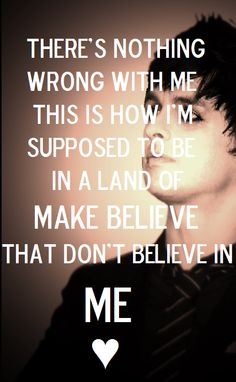 Green Day in my land of make believe.