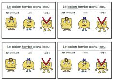 French Education, Cycle 3, French Immersion, Parts Of Speech, Teaching French, Learn French, Teaching Tools, Alphabet, Language