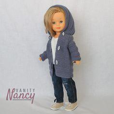 Lana, Crochet Hats, Fashion, Crochet Doll Clothes, Needlework, Knit Cowl, Knit Jumpers, Beautiful Dolls, Crocheted Hats