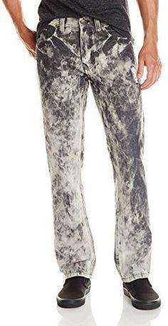 Southpole Men's Acid Washed Denim Jean