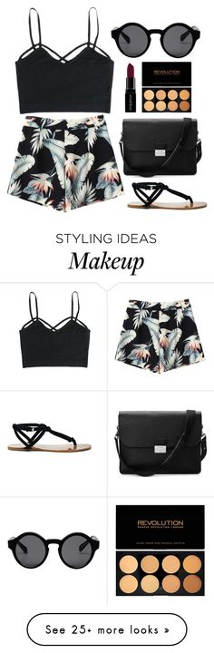 """""""#24"""" by mandyhoran1 on Polyvore featuring Monki, Aspinal of London, Smashbox and Sole Society"""