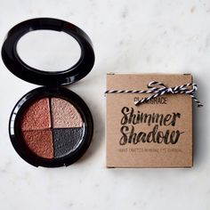 Shimmer Shadow Quad - Mineral eye shadow Handcrafted mineral eyeshadow. Mega pigmented colors! Like whoa Glam & Grace Makeup Eyeshadow