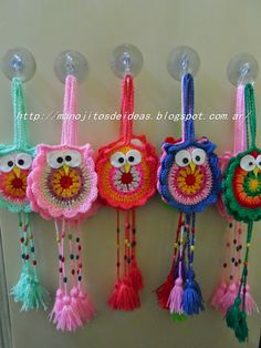 1 million+ Stunning Free Images to Use Anywhere Owl Crochet Patterns, Crochet Birds, Amigurumi Patterns, Crochet Motif, Crochet Crafts, Crochet Flowers, Crochet Projects, Knitting Patterns, Crochet Keychain