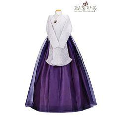 Dress Outfits, Fashion Outfits, Dresses, Modern Hanbok, Traditional Clothes, Hanfu, Korean Fashion, Fashion Accessories, Kimono