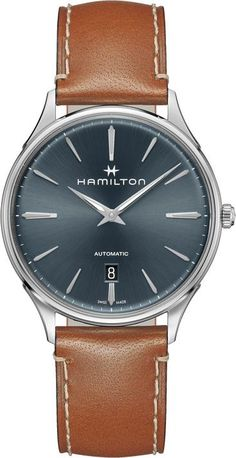 Hamilton Watch Jazzmaster Thinline #add-content #basel-18 #bezel-fixed #bracelet-strap-leather #brand-hamilton #case-depth-8-45mm #case-material-steel #case-width-40mm #cws-upload #date-yes #delivery-timescale-call-us #dial-colour-blue #discount-code-allow #gender-mens #luxury #movement-automatic #new-product-yes #official-stockist-for-hamilton-watches #packaging-hamilton-watch-packaging #style-dress #subcat-jazzmaster #supplier-model-no-h38525541 #warranty-hamilton-official-2-year-guarantee