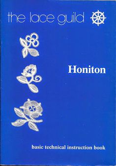 Honiton Lace - basic technical in. Crochet Motif, Irish Crochet, Crochet Lace, Romanian Lace, Bobbin Lacemaking, Bobbin Lace Patterns, Point Lace, Crochet Magazine, Crochet Books