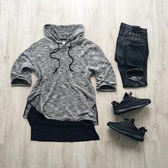WEBSTA @ wdywt - or: #WDYWTgrid by @fitolombardo#mensfashion #outfit #ootd: #Profoundco #Premiumco: #ksubi: #Adidas #Yeezyboost 350 'Pirate Black'#WDYWT for on-feet photos#WDYWTgrid for outfit lay down photos•