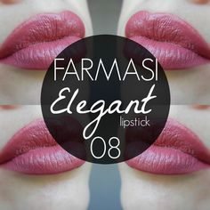 mela-e-cannella: FARMASI Lipstick - Elegant 8