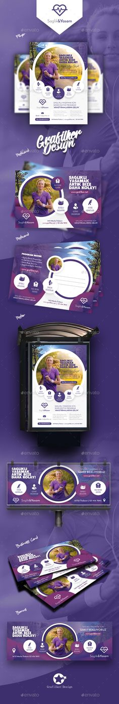 Healthy Life Bundle Templates - Corporate Flyers