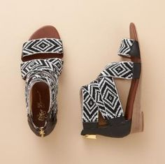 Beaded sandals that were in Sundance Catalog for $210.