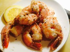 Enjoy delicious HCG Shrimp Recipes for Phase 2. My Phase 2 Black Pepper Shrimp Recipe is a great P2 choice for the low calorie phase of the HCG Diet.