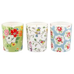 Set Of 3 Fragranced Candles | Beauty | CathKidston